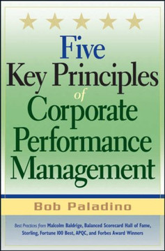 Five Key Principles of Corporate Performance Management