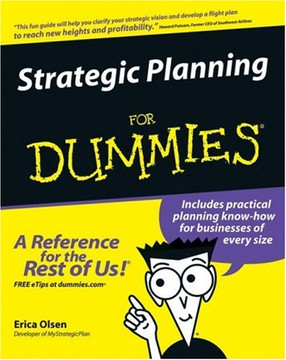 Strategic Planning For Dummies®