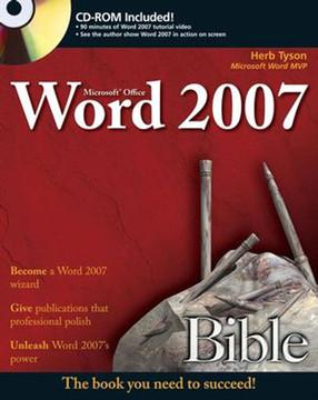 Microsoft® Word 2007 Bible