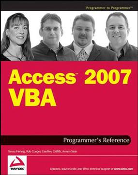Access™ 2007 VBA Programmer's Reference