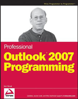 Professional Outlook® 2007 Programming