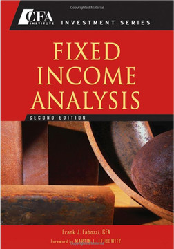 Fixed Income Analysis, Second Edition