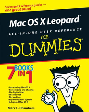 Mac OS® X Leopard™ All‐in‐One Desk Reference For Dummies®