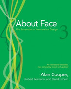 Cover of About Face 3: The Essentials of Interaction Design