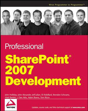 Professional SharePoint® 2007 Development