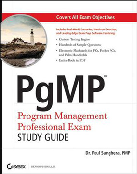 PgMP Program Management Professional Exam Study Guide