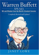 Cover of Warren Buffett Speaks: Wit and Wisdom from the World's Greatest Investor
