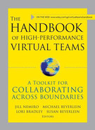 Cover of The Handbook of High Performance Virtual Teams: A Toolkit for Collaborating Across Boundaries