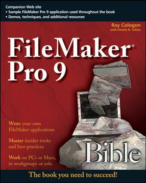 FileMaker® Pro 9 Bible