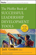 Cover of The Pfeiffer Book of Successful Leadership Development Tools