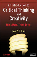 Cover of An Introduction to Critical Thinking and Creativity: Think More, Think Better
