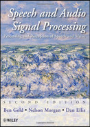 Cover of Speech and Audio Signal Processing: Processing and Perception of Speech and Music, Second Edition