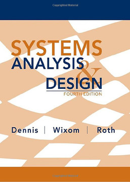 Systems Analysis and Design, 4th Edition