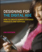 Cover of Designing for the Digital Age: How to Create Human-Centered Products and Services