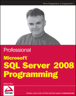 Professional Microsoft® SQL Server® 2008 Programming