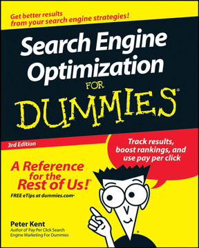 Search Engine Optimization: For Dummies®, 3rd Edition