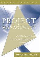Cover of Project Management: A Systems Approach to Planning, Scheduling, and Controlling, Tenth Edition