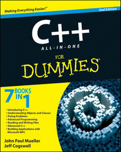 C++ All-In-One For Dummies®, 2nd Edition