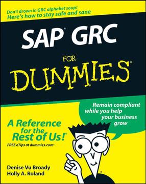 SAP® GRC For Dummies®