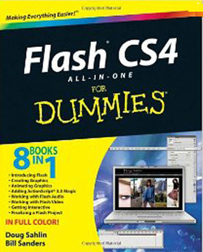 Flash CS4 All-in-One For Dummies®