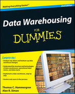 Cover of Data Warehousing For Dummies®, 2nd Edition