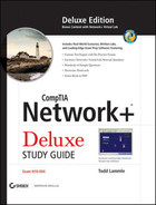 Cover of CompTIA Network+®: Deluxe Study Guide