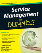 Book cover for Service Management for Dummies®