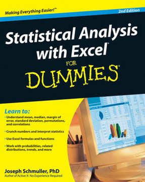 Statistical Analysis with Excel® For Dummies®, 2nd Edition