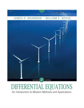 Differential Equations: An Introduction to Modern Methods and Applications, 2nd Edition