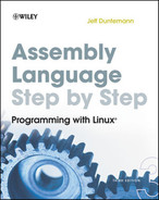 Cover of Assembly Language Step-by-Step: Programming with Linux®, Third Edition