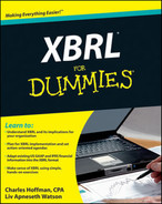 Cover of XBRL® For Dummies®
