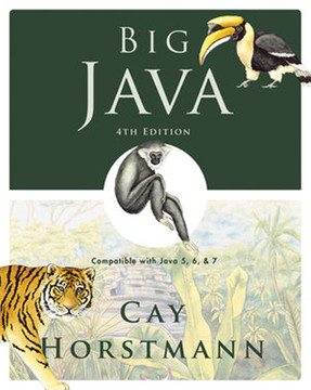 Big Java, 4th Edition