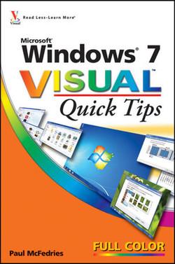Windows® 7 Visual™ Quick Tips
