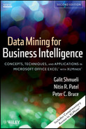 Cover of Data Mining For Business Intelligence: Concepts, Techniques, and Applications in Microsoft Office Excel® with XLMiner®, Second Edition
