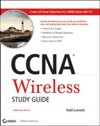 Cover of CCNA® Wireless Study Guide