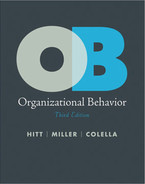 Cover of Organizational Behavior, Third Edition