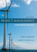 Cover of Project Management: A Managerial Approach, 8th Edition