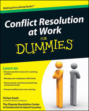 Conflict Resolution at Work for Dummies®