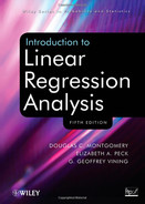 Cover of Introduction to Linear Regression Analysis, 5th Edition