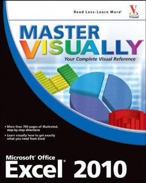 Master VISUALLY® Excel® 2010