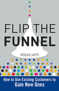 Cover of Flip the Funnel: How to Use Existing Customers to Gain New Ones