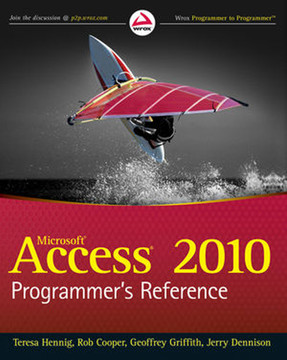 Microsoft® Access® 2010 Programmer's Reference
