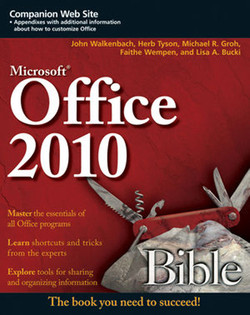 Microsoft® Office 2010 Bible