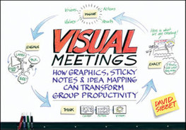 Cover of Visual Meetings: How Graphics, Sticky Notes and Idea Mapping Can Transform Group Productivity
