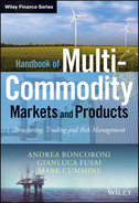 Cover of Handbook of Multi-Commodity Markets and Products: Structuring, Trading and Risk Management