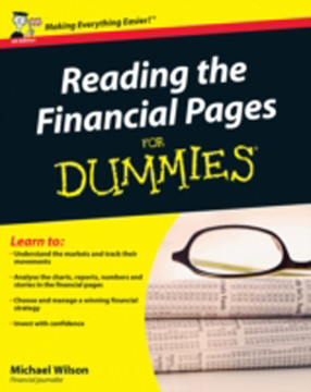 Reading the Financial Pages for Dummies®