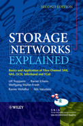 Cover of Storage Networks Explained: Basics and Application of Fibre Channel SAN, NAS, iSCSI, InfiniBand and FCoE, Second Edition