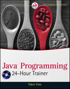 Cover of Java® Programming 24-Hour Trainer
