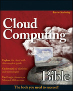 Cover of Cloud Computing Bible