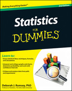 Cover of Statistics For Dummies®, 2nd Edition